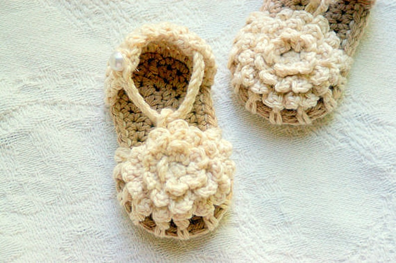Crochet Pattern 101 Pdf Instant Download Crochet Baby Shoe Etsy