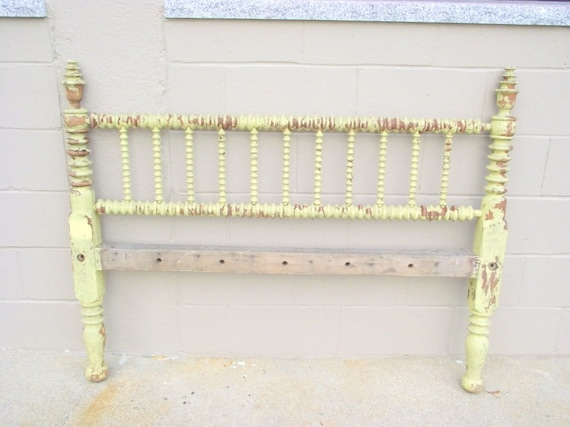 Antique jenny lind bed spindle spool full size heirloom solid etsy
