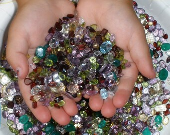 4d10001dca7 Gem mix wholesale loose natural parcel lot 5000 carats -- Free Ship USA