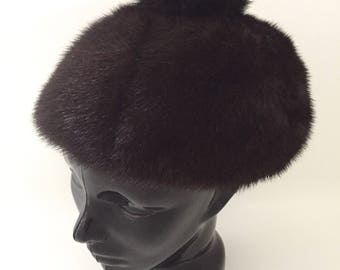 Mink Fur Hat - Real Fur Winter Hat - Womens Hat - Vintage Hat Women -  Russian Hat - Nordic Winter Hats Fur -Trapper Hat Holt Renfrew a2db43d66a0e