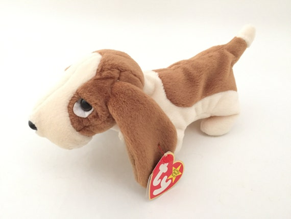 Ty Beanie Babies Dog Tracker Vintage Beanie Baby Dogs Etsy