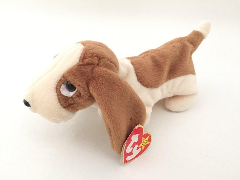 e4d49481e57 TY Beanie Babies Dog Tracker Vintage Beanie Baby Dogs