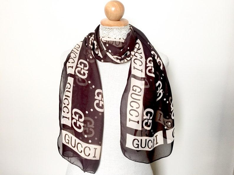 51e6ba0b1 Gucci Scarf - Womens Scarves -Womens Scarf - Designer Scarves for Women -  Womans Scarf - Hollywood Celebrity Fashion Wrap Shawl Womans Scarf