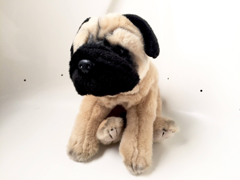 Pug Dog Stuffed Animal Dog Plush Toy Pug Dog Stuffed Etsy