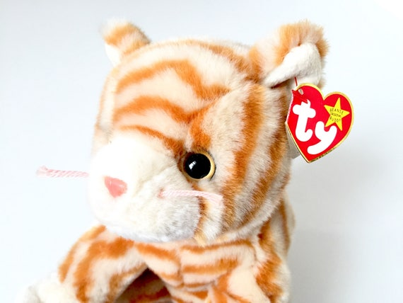 TY Beanie Babies Cat Vintage Beanie Baby Cat Plush Toy  5042deb61ec