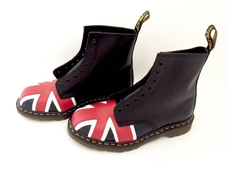 ea30012b0f7f Dr Martens Boots Union Jack Doc Martens Boots Shoes