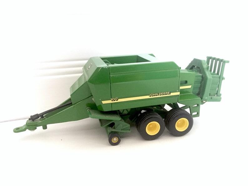 John Deere Gifts >> John Deere Baler Hay Bale Farm Tractor Toy Vintage Farm Etsy