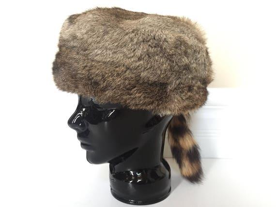 couleurs délicates acheter pas cher ramassé La fourrure à chapeau - chapeau de trappeur pour les hommes ou femmes -  chapeau de fourrure d'hiver - chapeau de femmes - hommes chapeau homme - ...