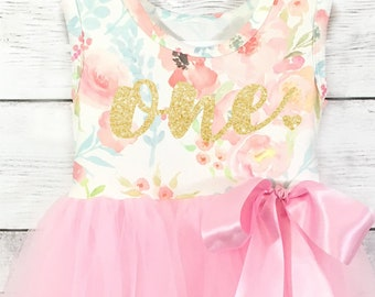 Girls First Birthday Dress, Personalized Birthday  Dress, Birthday,  Dress, First Birthday, Girls First Birthday, 1st Birthday