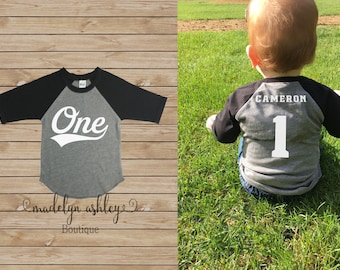 First Birthday Shirt Boy