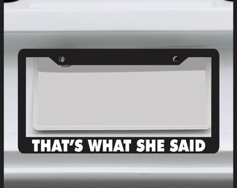 Welcome to the Sh it Show License plate novelty car vanity tag Funny Adult Humor