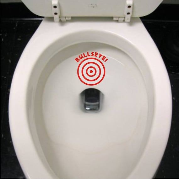 Awesome Toilet Bulls Eye Target Sticker Decal Potty Training Toilet Decal Bulls Eye Aiming Sticker For Boys Toddlers Children Daycare School Bralicious Painted Fabric Chair Ideas Braliciousco