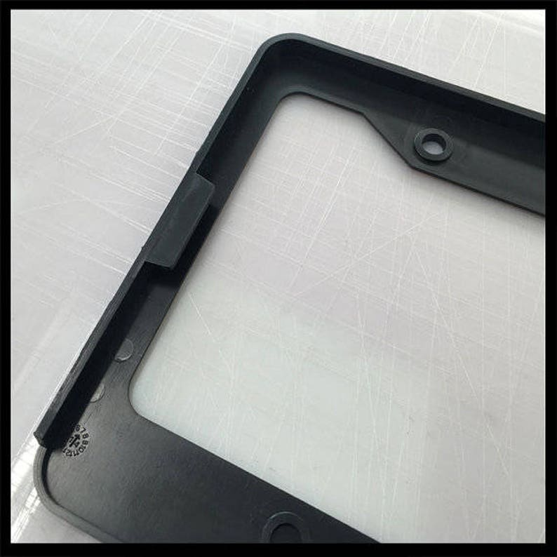 License Plate Frame Spoiled Wife car tag frame I/'m Not Spoiled My Husband Just Loved Me custom plate frame license plate holder
