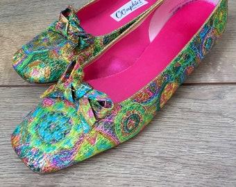 d631af3a080f7 Pink house shoes | Etsy