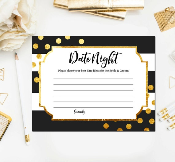 black and gold bridal shower games date night ideas for the newlyweds gold and