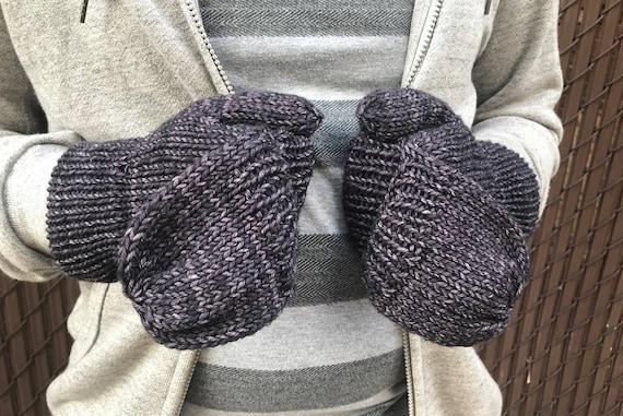 Knit Glove Pattern Convertible Gloves Pattern Convertible Etsy