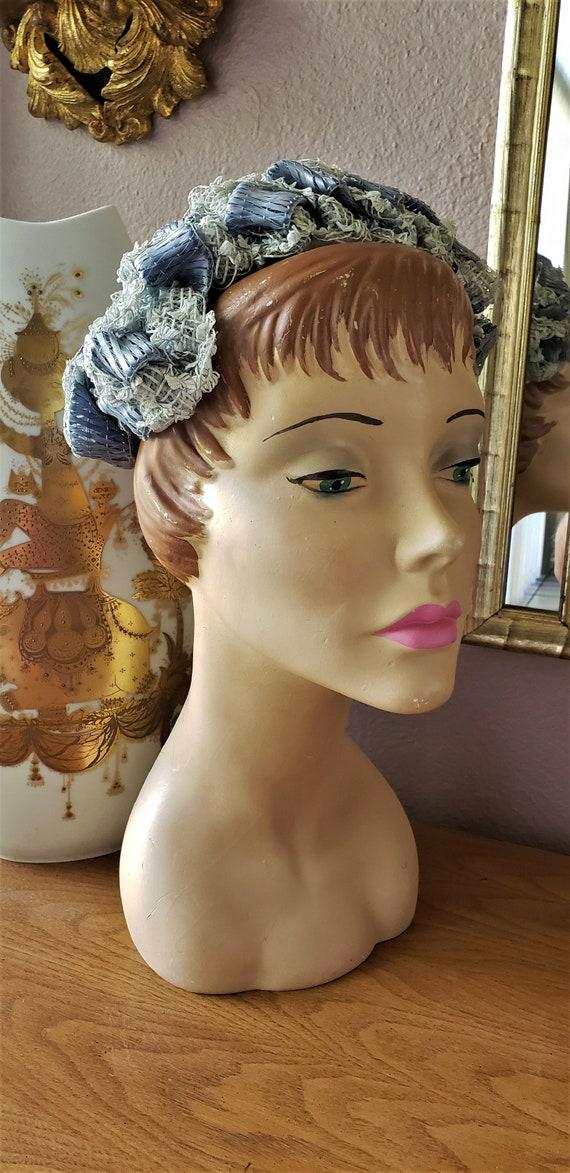 Vintage 1950's Pinehurst Brandeis Periwinkle Blue
