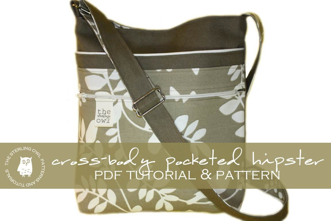 Cross Body Bag Pattern New Design Ideas