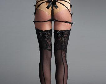Thigh High Stockings - Thigh Highs - Garter Stockings
