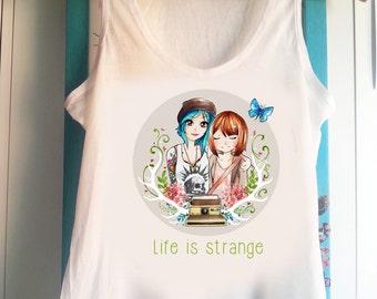 eace900b95efc Life is strange Max and Chloe - Tank Top Sleeveless t-shirt