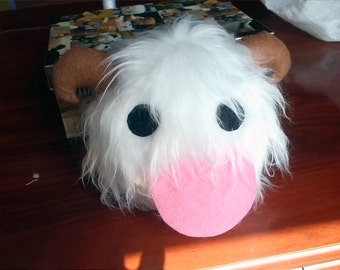 Fluffy Poro Plushie - League of Legends plush