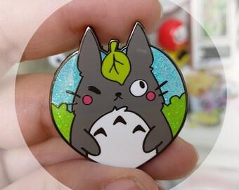 Totoro hard enamel pin - ghibli My neighbour Totoro inspired