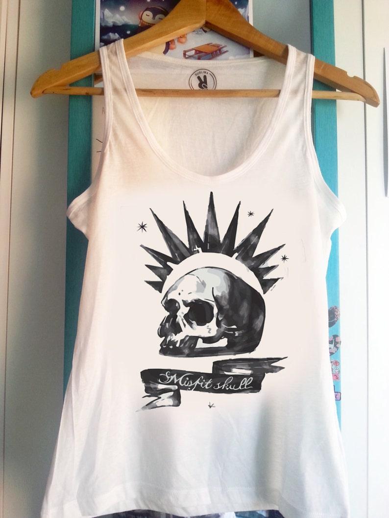0a416018e43ee Chloe Price misfit skull Life is Strange Tank