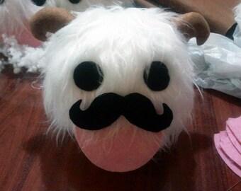 Moustache poro plushie - League of Legends plush