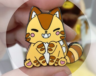 Catbus hard enamel pin - ghibli My neighbour Totoro inspired