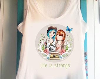 Life is strange Max and Chloe -  Tank Top Sleeveless t-shirt
