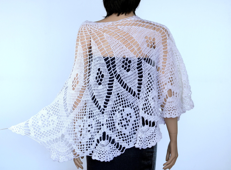 Crochet Shawl Wrap Crochet Shawl Pattern Wedding Shawl Wedding Wrap Crochet Lace Shawl Lace Shawl Pattern Handmade Shawl Wrap Pattern