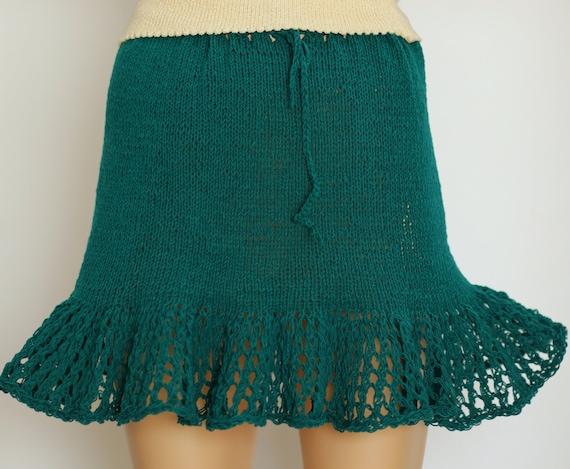 Knit Skirt Pattern Summer Skirt Pattern Lace Skirt Lace Skirt Etsy