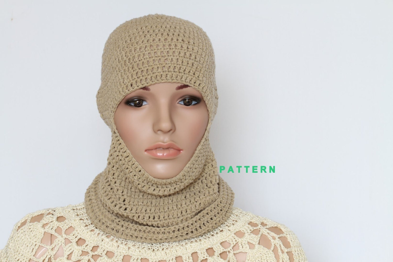Crochet Ski Mask PDF Pattern Hand crochets Cap Pattern
