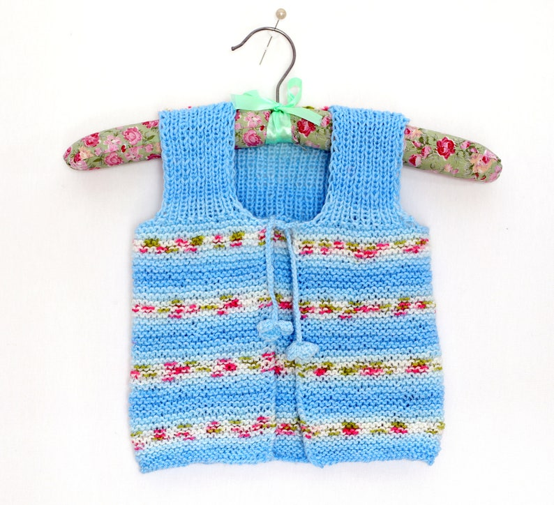 559fdc47914e Knit Baby Vest Knit Baby Cardigan Baby Clothing Baby Vest