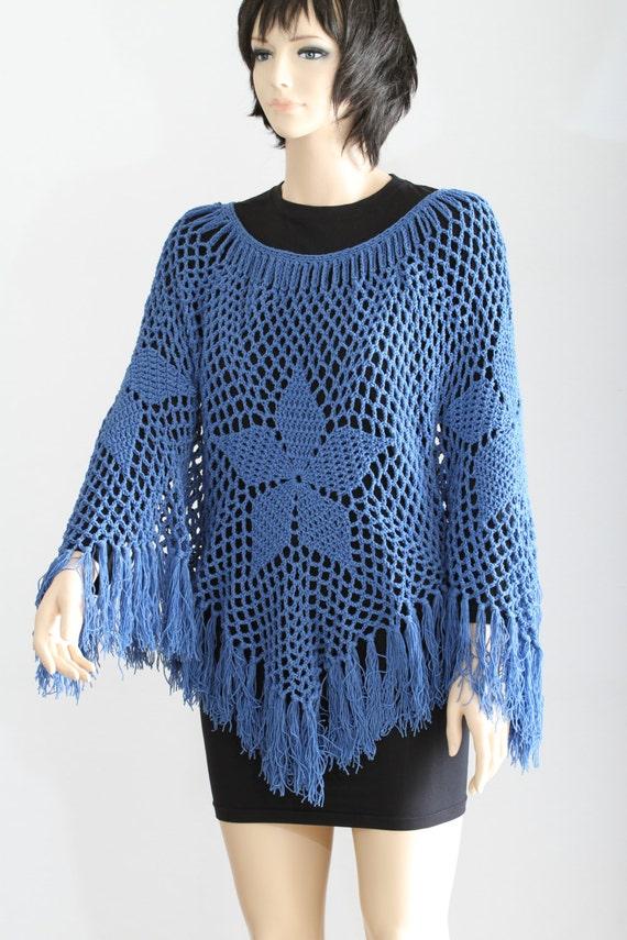 Poncho Pattern Pdf Cape Pattern Crochet Shawl Womens Poncho Easy Crochet Pattern Crochet Cape Pattern Vintage Granny Square Poncho Crochet