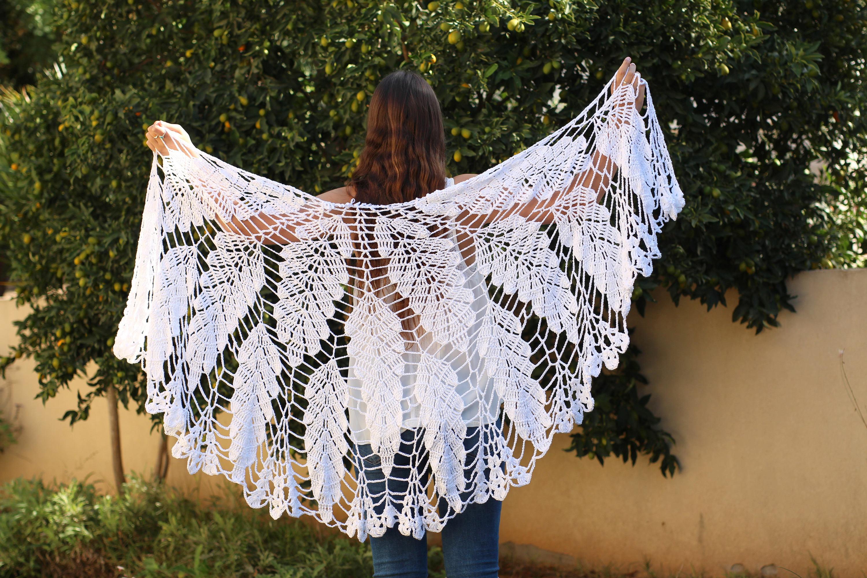 Crochet Shawl Pattern Wedding Shawl Wrap Shawls Wedding Wrap Etsy