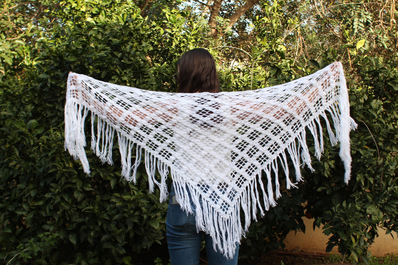 Wrap Crochet Pattern Crochet Shawl Wrap Crochet Shawl Pattern Etsy