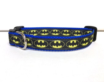 Dog Collar- The Batman Inspired