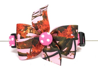 Dog Collar- Pink Woods