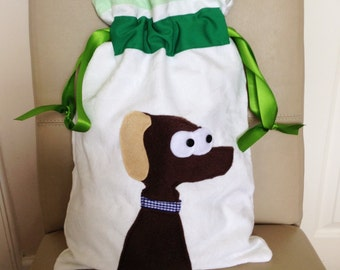 Back To School, Dog Lovers Bag, P.E. Drawstring Bag, Training Bag For Dogs, Dog Walkers Bag, Gym Accessory, Cosmetic Storage