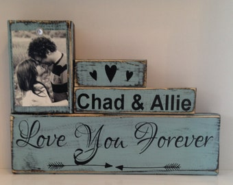 Bridal shower gift wedding gift personalized frame gift for bride gift for newlyweds mr & mrs bride and groom unique gift for couple