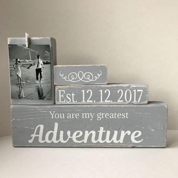 You Are My Greatest Adventure Unique Wedding Gift Husband Etsy