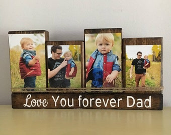 Love you forever dad, for dad from son, for dad from daughter, father's day gift, dad sign, dad gift, father gift, love you dad, my dad rock