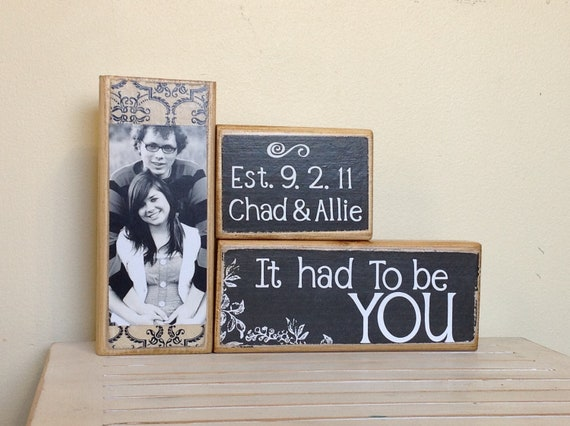 Personalized Couples Gift Unique Wedding Gift It Had To Be Etsy