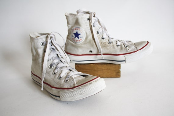 Vintage Converse high Top Sneakers Chucks Sneaks W