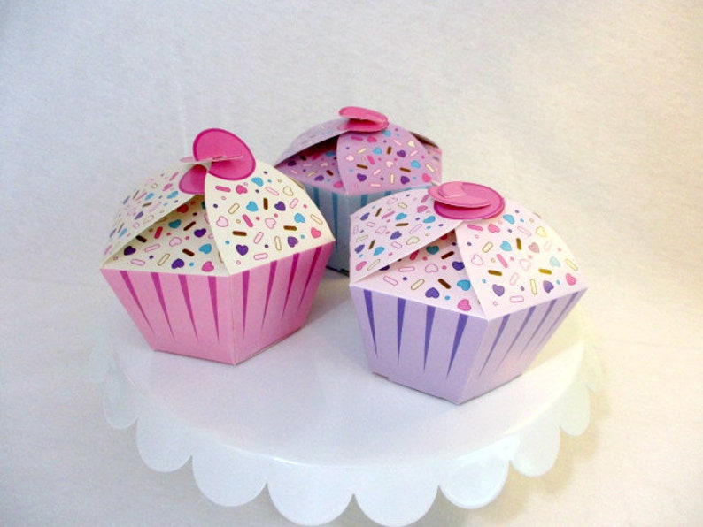 Cupcake Boxes Food Box Donuts Party Cupcakes Sweets Party Etsy