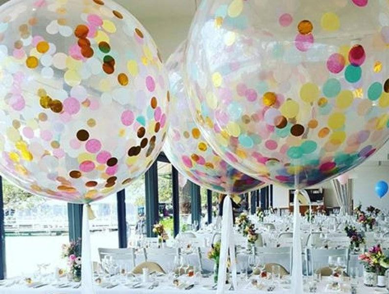 Confetti Balloons Birthday Balloon Bouquet Kit