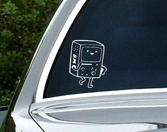 Adventure Time - BMO Vinyl Decal