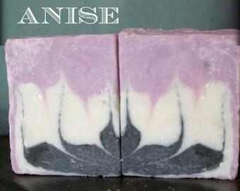 Lavender Anise {Vegan} All Natural Handmade Soap | 3oz