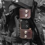 Handmade Leather MOLLE Axe Holster